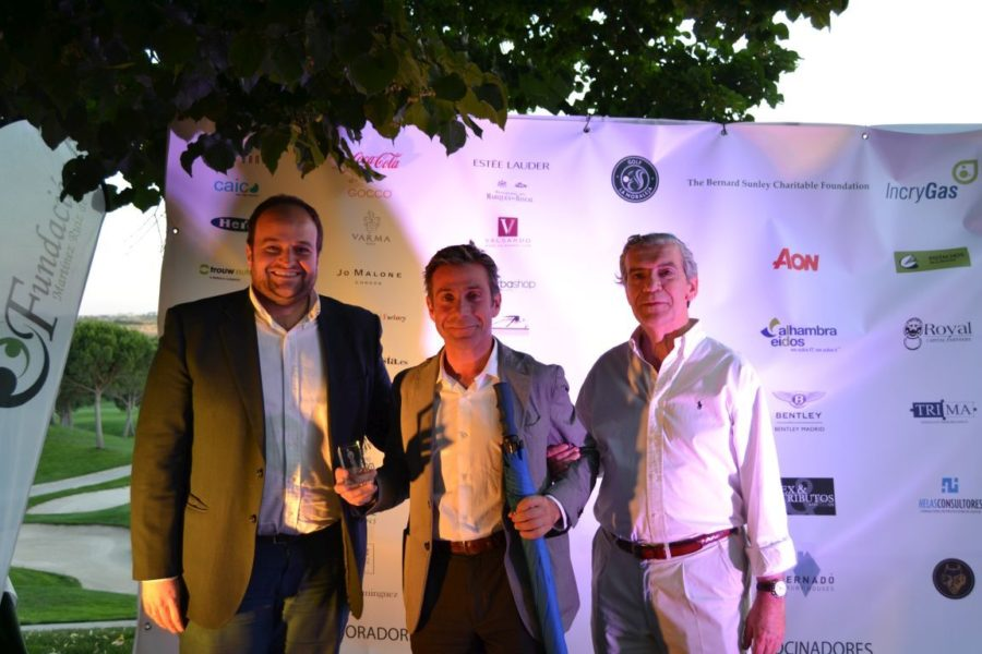 Bernadó participa en el  V Campeonato de Golf Benéfico de la FMRI